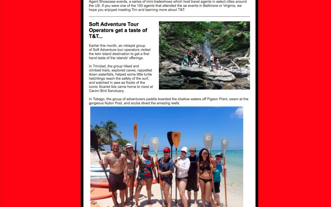 Soft Adventure Tour Operator Press Release